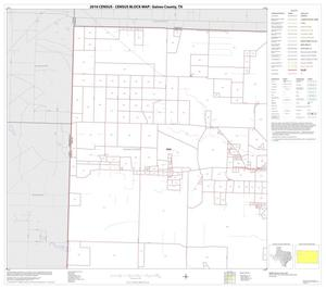 Primary view of object titled '2010 Census County Block Map: Gaines County, Block 1'.