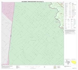 Primary view of object titled '2010 Census County Block Map: Harris County, Block 284'.