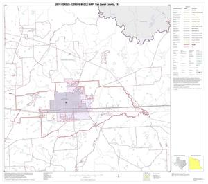 Primary view of object titled '2010 Census County Block Map: Van Zandt County, Block 8'.