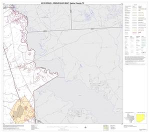 Primary view of object titled '2010 Census County Block Map: Upshur County, Block 4'.