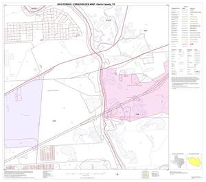 Primary view of object titled '2010 Census County Block Map: Harris County, Block 141'.