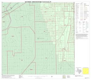 Primary view of object titled '2010 Census County Block Map: Tarrant County, Inset G03'.