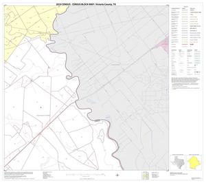 Primary view of object titled '2010 Census County Block Map: Victoria County, Block 13'.