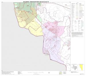 Primary view of object titled '2010 Census County Block Map: Maverick County, Block 13'.