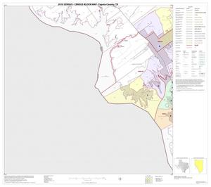 Primary view of object titled '2010 Census County Block Map: Zapata County, Block 13'.