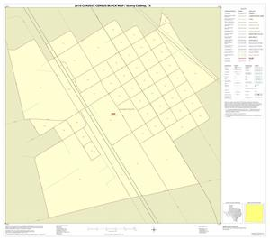 Primary view of object titled '2010 Census County Block Map: Scurry County, Inset C01'.