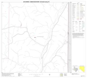 Primary view of object titled '2010 Census County Block Map: Val Verde County, Block 30'.