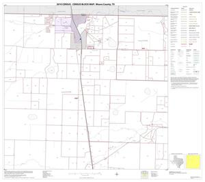 Primary view of object titled '2010 Census County Block Map: Moore County, Block 2'.
