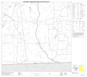 Primary view of object titled '2010 Census County Block Map: Van Zandt County, Block 22'.