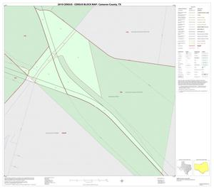 Primary view of object titled '2010 Census County Block Map: Cameron County, Inset O01'.