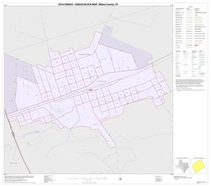 Primary view of object titled '2010 Census County Block Map: Milam County, Inset G01'.