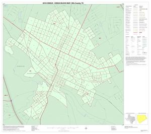 Primary view of object titled '2010 Census County Block Map: Ellis County, Inset I01'.