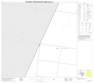 Primary view of object titled '2010 Census County Block Map: Hidalgo County, Block 29'.
