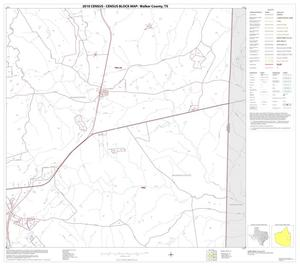 Primary view of object titled '2010 Census County Block Map: Walker County, Block 15'.