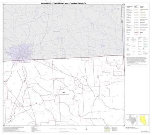 Primary view of object titled '2010 Census County Block Map: Cherokee County, Block 3'.