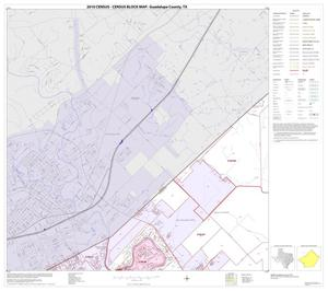 Primary view of object titled '2010 Census County Block Map: Guadalupe County, Block 3'.