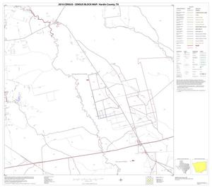 Primary view of object titled '2010 Census County Block Map: Hardin County, Block 17'.