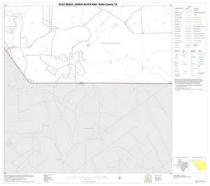 Primary view of object titled '2010 Census County Block Map: Webb County, Block 55'.