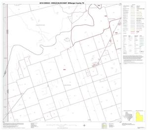Primary view of object titled '2010 Census County Block Map: Wilbarger County, Block 9'.