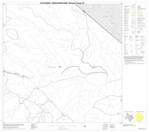 Primary view of object titled '2010 Census County Block Map: Brewster County, Block 52'.