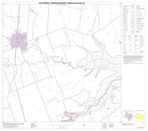 Primary view of object titled '2010 Census County Block Map: Williamson County, Block 20'.