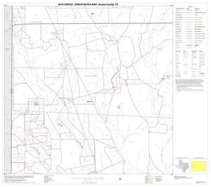 Primary view of object titled '2010 Census County Block Map: Zavala County, Block 5'.