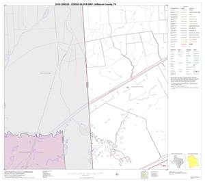 Primary view of object titled '2010 Census County Block Map: Jefferson County, Block 32'.