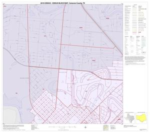 Primary view of object titled '2010 Census County Block Map: Cameron County, Inset V01'.