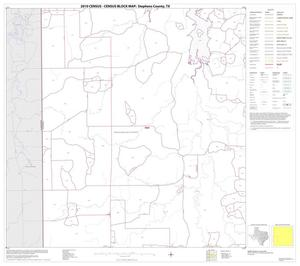 Primary view of object titled '2010 Census County Block Map: Stephens County, Block 9'.