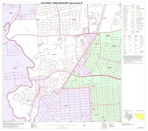 Primary view of object titled '2010 Census County Block Map: Harris County, Block 181'.