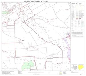 Primary view of object titled '2010 Census County Block Map: Ellis County, Block 10'.