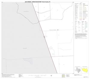 Primary view of object titled '2010 Census County Block Map: Harris County, Block 124'.