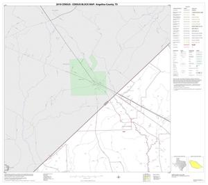 Primary view of object titled '2010 Census County Block Map: Angelina County, Block 1'.