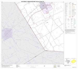 Primary view of object titled '2010 Census County Block Map: Navarro County, Block 25'.