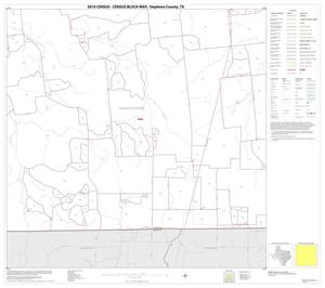 Primary view of object titled '2010 Census County Block Map: Stephens County, Block 15'.