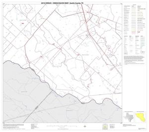Primary view of object titled '2010 Census County Block Map: Austin County, Block 16'.