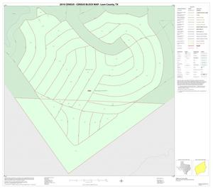 Primary view of object titled '2010 Census County Block Map: Leon County, Inset G01'.