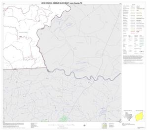 Primary view of object titled '2010 Census County Block Map: Leon County, Block 20'.