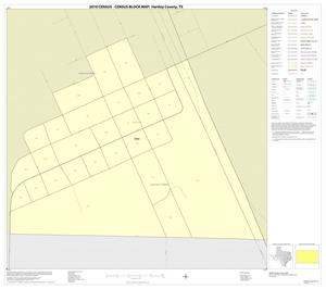 Primary view of object titled '2010 Census County Block Map: Hartley County, Inset B01'.
