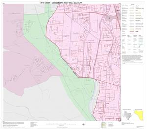 Primary view of object titled '2010 Census County Block Map: El Paso County, Block 21'.