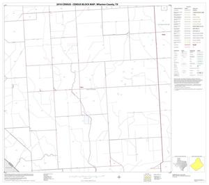 Primary view of object titled '2010 Census County Block Map: Wharton County, Block 37'.