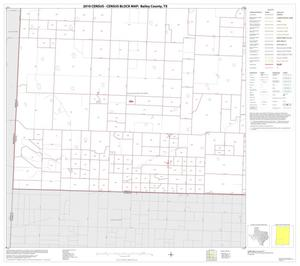Primary view of object titled '2010 Census County Block Map: Bailey County, Block 5'.