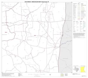 Primary view of object titled '2010 Census County Block Map: Rusk County, Block 11'.