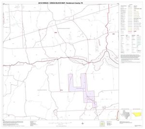 Primary view of object titled '2010 Census County Block Map: Henderson County, Block 16'.