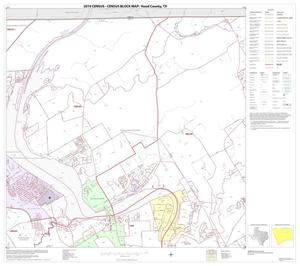 Primary view of object titled '2010 Census County Block Map: Hood County, Block 3'.