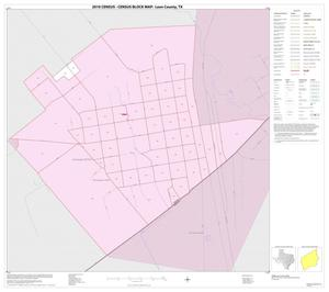 Primary view of object titled '2010 Census County Block Map: Leon County, Inset H01'.