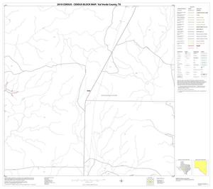 Primary view of object titled '2010 Census County Block Map: Val Verde County, Block 66'.