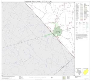Primary view of object titled '2010 Census County Block Map: Gonzales County, Block 18'.
