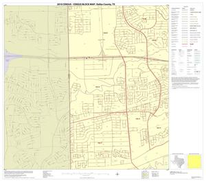 Primary view of object titled '2010 Census County Block Map: Dallas County, Block 55'.