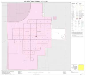 Primary view of object titled '2010 Census County Block Map: Hall County, Inset D01'.